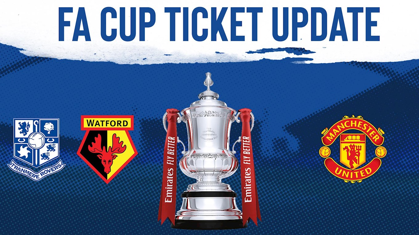 Ticket update for potential fourth round FA Cup tie - News ...